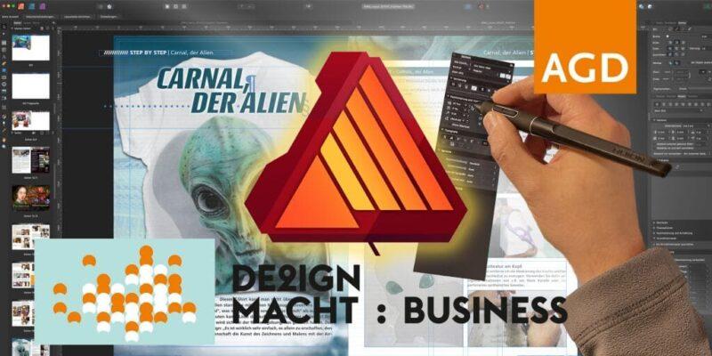 Arbeiten mit Affinity Publisher und Umstieg von Indesign